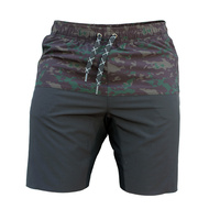 Pro Flex Training Shorts - 19 inch - Black Camo