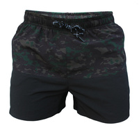 Pro Flex Training Shorts - 15 inch - Black Camo